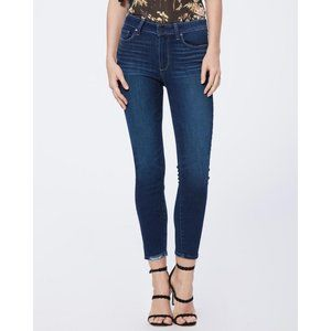Paige High-Rise Cropped Skinny Jeans